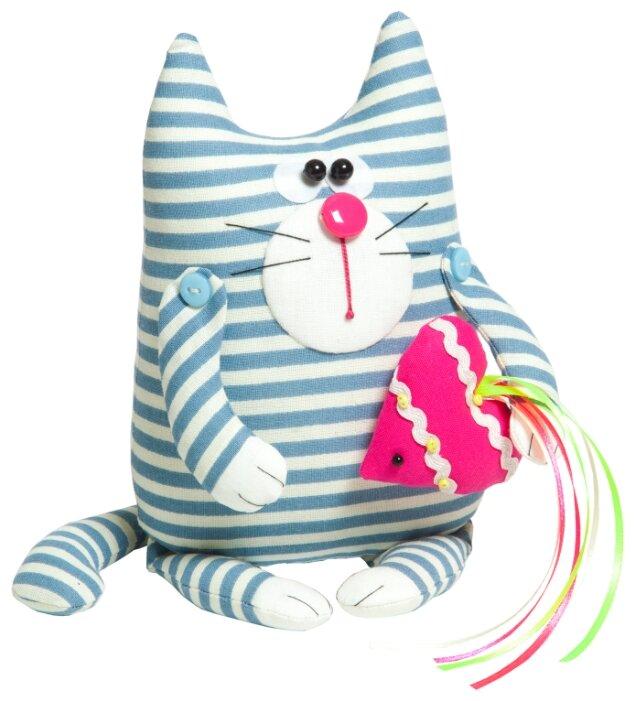 Малиновый слон Набор для изготовления мягкой игрушки Кот Матвей (ТК-007)