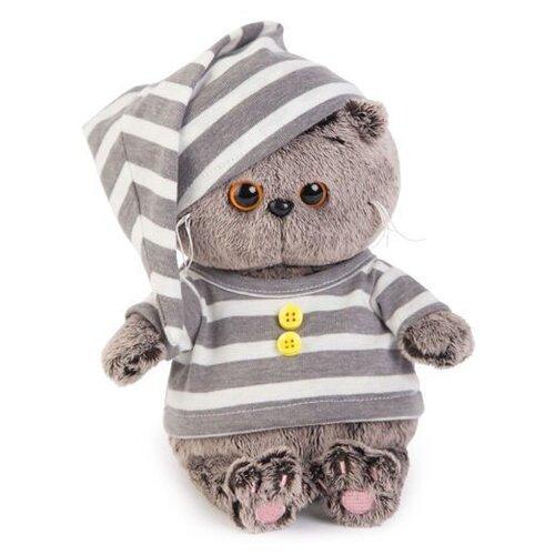 Купить Мягкая игрушка Basik&Co Кот Басик baby в пижамке 20 см, Мягкие игрушки