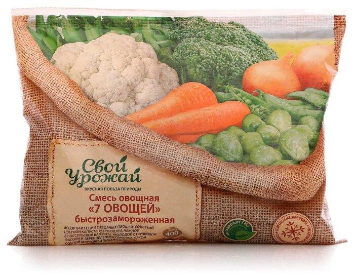 Свой урожай замороженная смесь овощная лечо 400 г