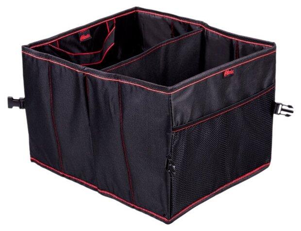 Автомобильная сумка в багажник, органайзер Ritmix RAO-0553, 30х25x19 см, чёрная
