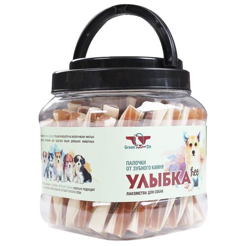 Лакомство для собак Green Qzin Улыбка Free Палочки от зубного камня, 1.012 кг