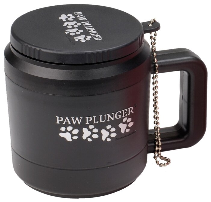 Лапомойка Paw Plunger малая черная