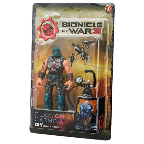 Фигурка FindusToys Bionicle of War Clayton CarmineСолдатики<br>