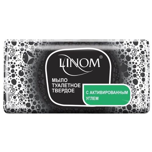 Мыло кусковое Linom с активированным углем 140 гМыло<br>