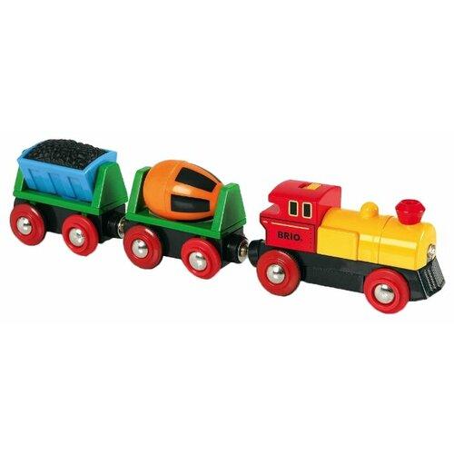 Купить Brio Поездной состав Грузовой , 33319, Наборы, локомотивы, вагоны