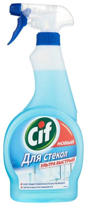 Спрей Cif для стекол Ультра быстрый