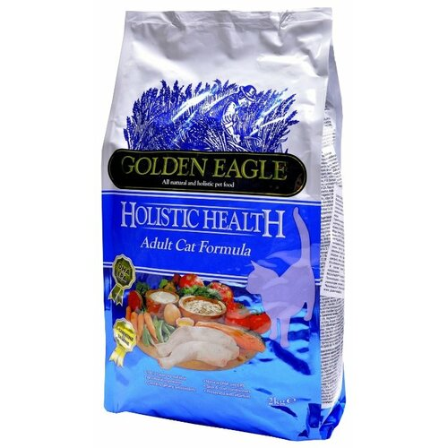 Корм для кошек Golden Eagle Holistic Health Adult Cat 32/21 (2 кг) туалетный табурет golden eagle tag furniture