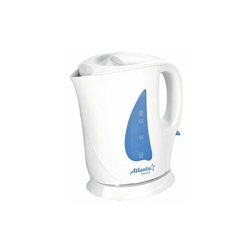 чайник atlanta ath 2437 white Чайник Atlanta ATH-717, белый/синий