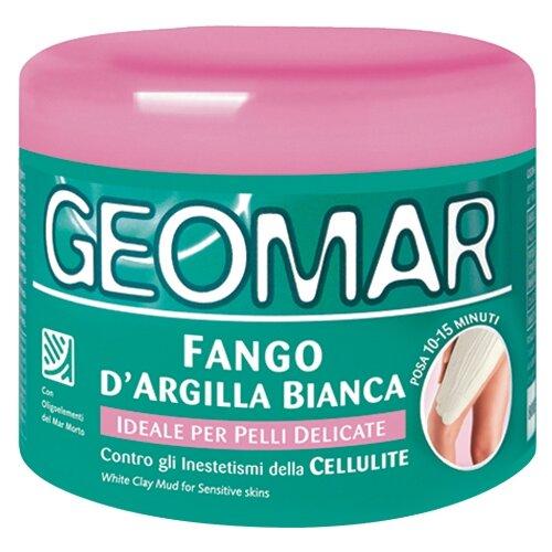 Грязь Geomar антицеллюлитная Белая глина для чувствительной кожи 500 млСредства для похудения и борьбы с целлюлитом<br>