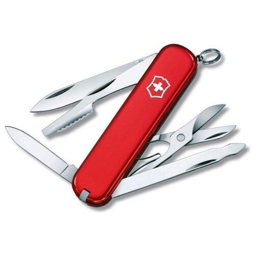 цена на Нож многофункциональный VICTORINOX Executive (10 функций) с чехлом красный