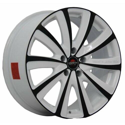 Фото - Колесный диск Yokatta Model-22 7x17/5x114.3 D64.1 ET50 W+B колесный диск yokatta model 27 7x17 5x114 3 d64 1 et50 w b