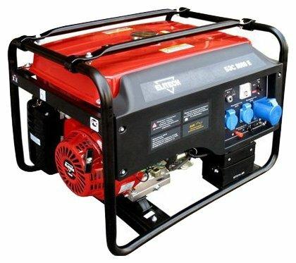 Бензиновый генератор ELITECH БЭС 8000 Е (6000 Вт)