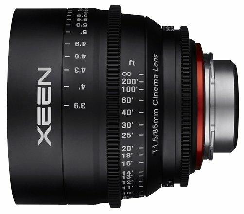 Объектив Xeen 85mm T1.5 Sony E