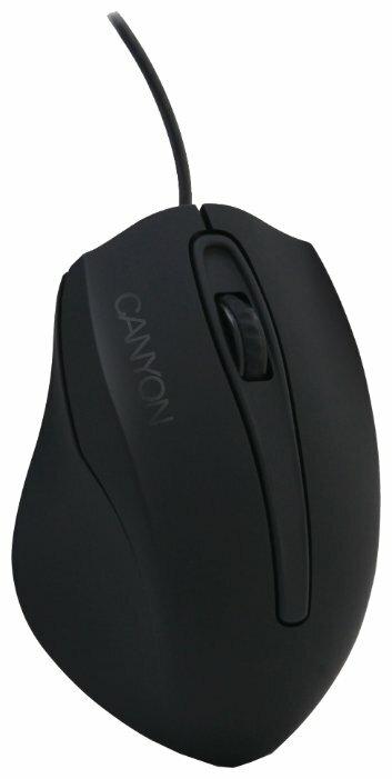 Мышь Canyon CNL-MBMSO01 Black USB