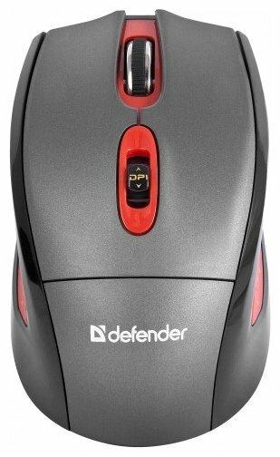 Мышь Defender Magnifico MM-515 Nano Grey USB
