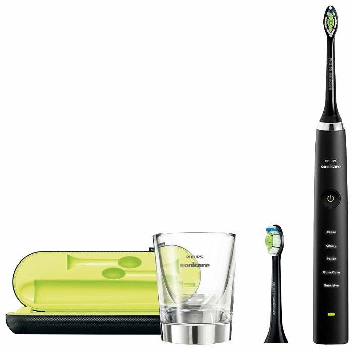 Электрическая зубная щетка Philips Sonicare DiamondClean HX9352/04 — 12 предложений — купить по выгодной цене на Яндекс.Маркете