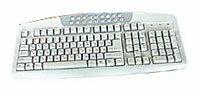 Клавиатура SVEN Multimedia 730 Silver PS/2