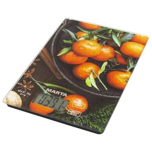 Кухонные весы Marta MT-1636 сладкий мандаринКухонные весы<br>