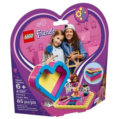 Конструктор LEGO Friends 41357 Шкатулка-сердечко Оливии lego friends 41354 шкатулка сердечко андреа конструктор