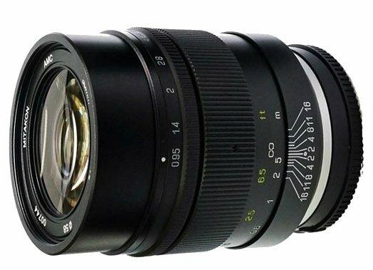 Объектив Mitakon Speedmaster 35mm f/0.95 II Canon M