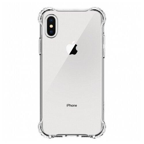 Купить Чехол Spigen 057CS22117 для Apple iPhone X прозрачный