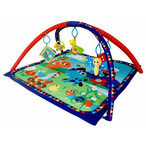 Купить Развивающий коврик La-Di-Da Праздник в зоопарке, Развивающие коврики