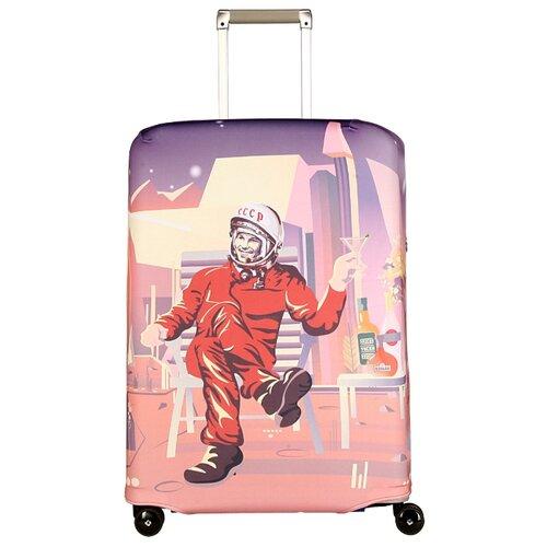 Чехол для чемодана ROUTEMARK Марс Дива Клаб SP180 M/L, розовый