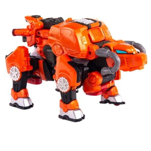 Трансформер YOUNG TOYS Metalions Taurus оранжевый трансформер young toys metalions ursa серый