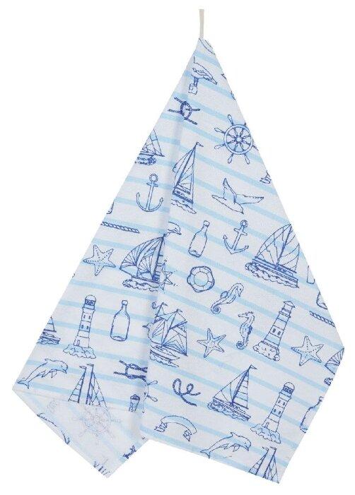 Guten Morgen полотенце Морской бриз кухонное 45х60 см синий