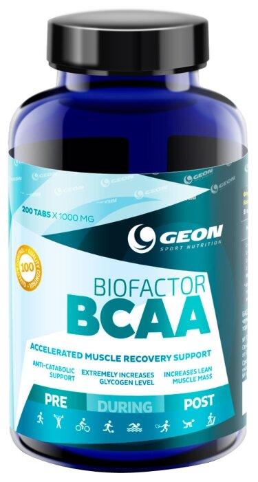 Geon BioFactor BCAA 200 tab (200 таб.)