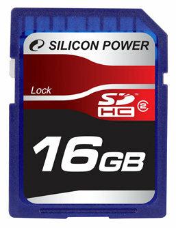 Карта памяти Silicon Power SDHC Card Class 2