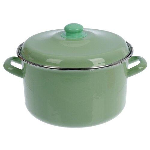 Кастрюля Интерос Мята 2 л, светло-зеленый кастрюля интерос лаванда 4 л