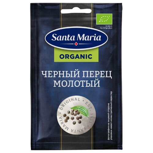 Santa Maria Пряность Черный перец молотый organic, 17 г