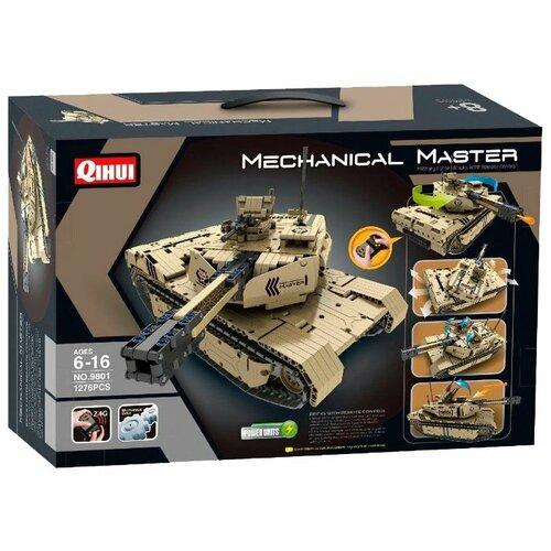 Купить Электромеханический конструктор QiHui Mechanical Master 9801 Танк, Конструкторы