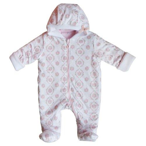Купить Комбинезон Sonia Kids размер 74, белый/розовый, Комбинезоны