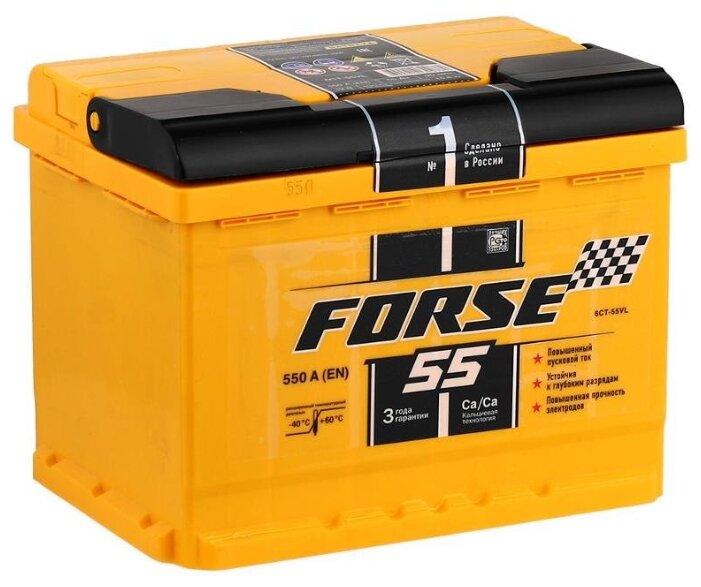 Аккумулятор Forse 6СТ-55VL