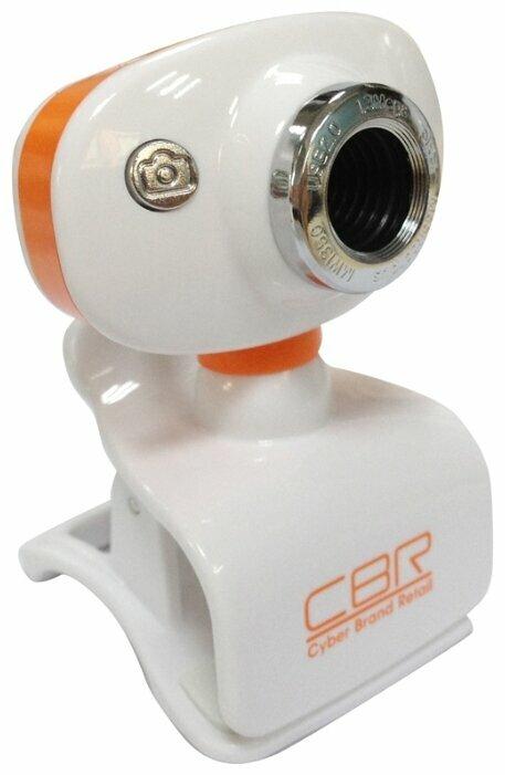 Cbr Веб-камера CW-833M Silver, универс. крепление, 4 линзы, эффекты, микрофон