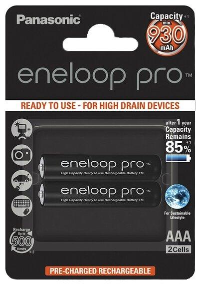 Аккумулятор Ni-Mh 930 мА·ч Panasonic eneloop pro AAA