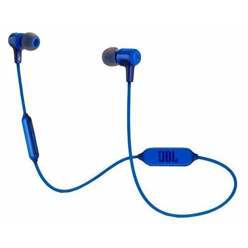 Беспроводные наушники JBL E25BT синий гарнитура jbl e25bt синий jble25btblu