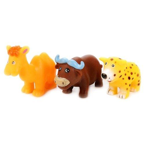 цена на Набор для ванной Играем вместе Животные Африки (В1565912) оранжевый / коричневый / желтый