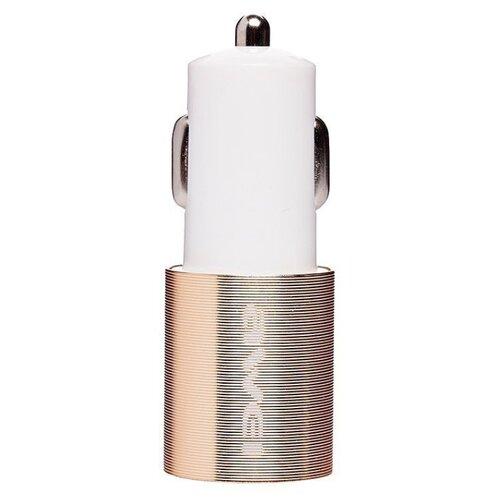 Автомобильная зарядка Awei C-100 белый / золотой
