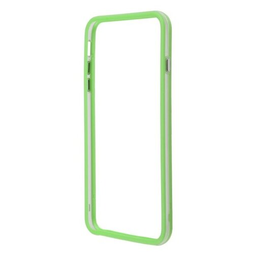 цена на Чехол Liberty Project Bumpers для Apple iPhone 6 Plus/iPhone 6s Plus зеленый/прозрачный