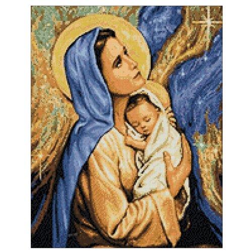 Гранни Алмазная мозаика Мадонна с младенцем (ag4683) 38x48 см