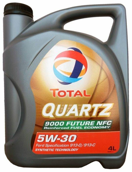 Масло моторное TOTAL QUARTZ Future NFC 9000 5w30 (4 л) Синтетика SL/CF A5/B5