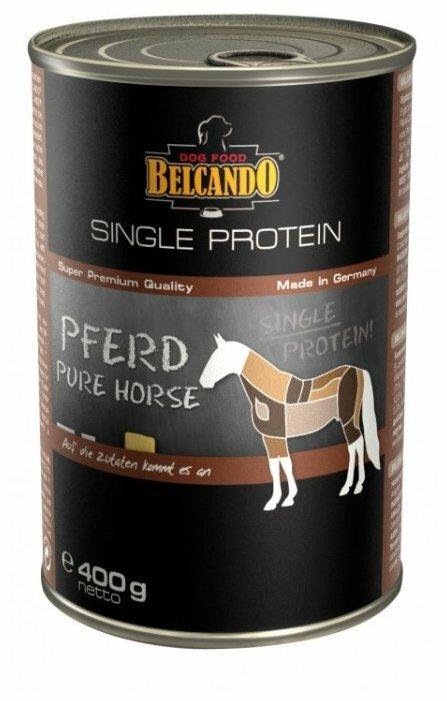 Корм для собак Belcando Single Protein Horse с кониной (0.4 кг) 6 шт.