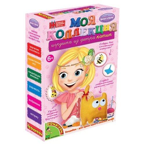 Купить BONDIBON Набор для шитья Игрушка из фетра Кот (ВВ1222), Изготовление кукол и игрушек