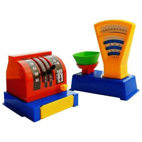 Купить Касса Пластмастер 22002, Играем в магазин