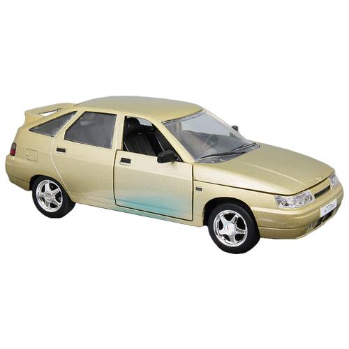 Легковой автомобиль Автопанорама ВАЗ 2112 (JB1200160/JB1200161/JB1200162) 1:22 22 см золотистый легковой автомобиль автопанорама мировые легенды ваз 2104 1 24 бежевый