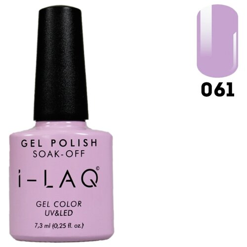 Гель-лак для ногтей I-LAQ Gel Color, 7.3 мл, оттенок 061 i laq гель лак 005