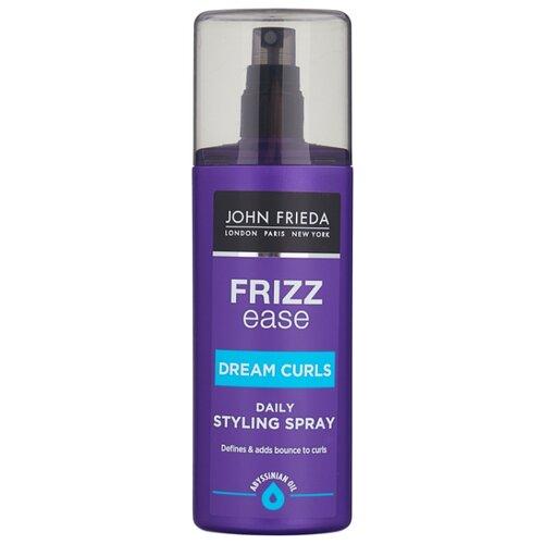 John Frieda Спрей для укладки волос Frizz ease Dream curls, 200 мл john frieda несмываемый спрей для укрепления волос с термозащитой detox